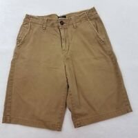 American Eagle Outfitters Men's Longboard Tan Flat Front Chino Shorts Size 30