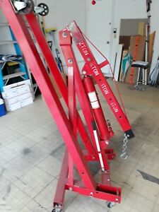Engine Motor Hoist Foldable Shop Crane