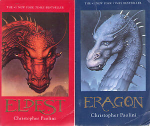 Complete Set Series - Lot of 4 Inheritance Books by Christopher Paolini Eragon