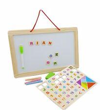Educacional Pizarra Blanca Infantil Doble Cara Magnético