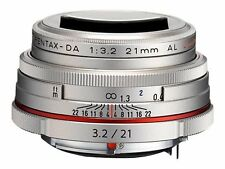 PENTAX HD Da Limited 21mm F3.2 Al Lens - Silver