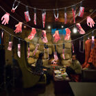 3pcs/set Halloween Decor Bloody Stained Banner Body Parts Party Decor