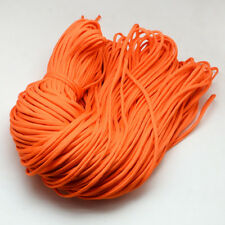 109yards Bulk Polyester Spandex Cords Rock Climbing Rope Cable Solid Color 4~5mm