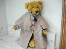 "SHURLOCK MOHAIR ""FROM THE GARDEN"" BEAR BY DODIE MOORE"