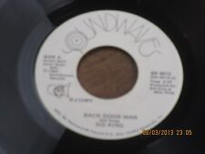 SID KING     BACK DOOR MAN  / WILLIE     DJ    ROCKABILLY     VG+  45rpm    K49