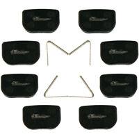 JRL 4x Deore Resin Brake Pads For Shimano M395 M446 M486 M485 M475 M525 M575 DH XC Bike