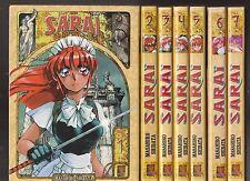 SARAI tomes 1 à 7 Masahiro Shibata MANGA seinen SERIE COMPLETE