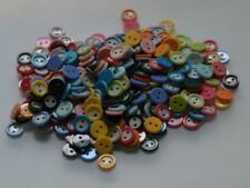 wholesale bulk 300pcs Random Mixed lots 15color Resin shirt Sewing Buttons 11mm