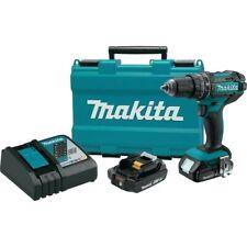 Makita 18v Compact Lithium Ion 12 Hammer Driver Drill Kit Model Xph10r