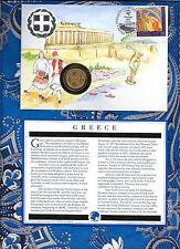 E Coins of All Nations Greece 2 Drachmai 1980  KM#117 UNC
