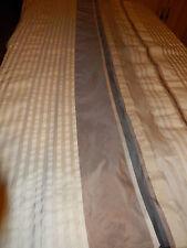 tissu soyeux 4m,20 en tout x1,60 =  2pans comme neufs====== rideaux ? a saisir !