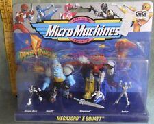 MICRO MACHINES POWER RANGERS MEGAZORD E SQUATT  VINTAGE ANNI 90 GIG