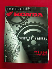 98-02 HONDA VTR1000F SUPER HAWK SERVICE MANUAL