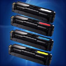 4PK NON-OEM SAMSUNG CLT-504S TONER SET for C1860FW C1810W CLP 415NW CLX 4195FW