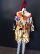 Renaissance Costume Harlequin Clown French Italian Men