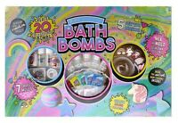 Make Your Own Bath Bombs Set Age 5+ Years 7 Moulds 5 Charms Makes 20 Bombs!