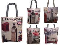 Ladies Girls Womens Fashion British London Souvenir Novelty Handbags