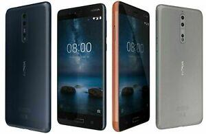 Nokia 8 / 4GB SIM-Free Smartphone unlock GRADE