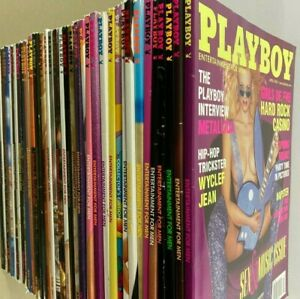 Playboy adult magazines vintage 1996 to 2001 with centerfolds You Choose