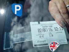 Tikettak - Car Van Caravan Windscreen Permit Ticket and Note Holder Avoid PA