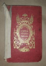 APPLETONS' UNITED STATES GUIDE BOOK 1852 travel illustrations maps free S/H