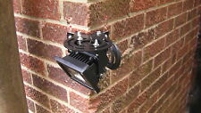 For Flat Wall Or Corner Fit Galv Strong Swivel Flood Light Bracket Adj 180°