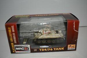 MRC Easy Model Platinum T34/76 Russian Tank 1943 Model  1:72 MIB