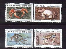 CHRISTMAS ISLAND 1985 Crabs set MUH