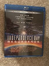 Independence Day Resurgence Bluray 1 Disc Set(No Digital HD)Ready To Ship