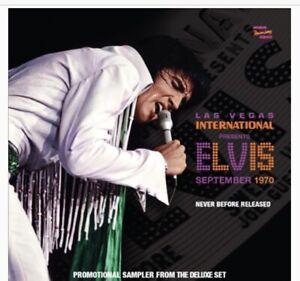 Elvis : 1970 2nd Sep Matinee Show/ 5 Track Sampler - Pre-Order