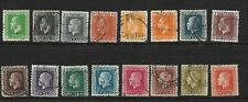 New Zealand Stamps Nice Selection of Used 1915 George V Definitives