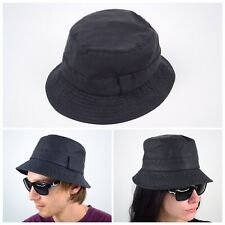 Vintage BARBOUR A108 Wax Bucket Fishing Shooting Waxed Hat/Cap Men's Size M