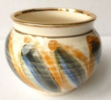 Isle of Wight Pottery hand painted decorative vase JO LESTER #3