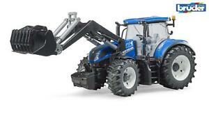 Bruder New Holland T7.315 With Front Loader 03121 Boys Girls Childrens Toys