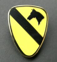 US ARMY 1ST CAVALRY DIVISION LARGE LAPEL PIN BADGE 1.5 INCHES
