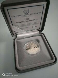 2 euros BE PROOF PP Chypre Cyprus zypern 2020 neurologie. 3000 ex.