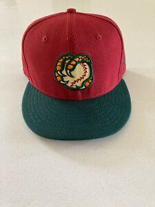 New Era 59fifty Boise Hawks Mesh Practice Hat Minor League 7 5/8