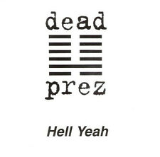 DEAD PREZ HELL YEAH 2 TRACK PROMO CD SINGLE