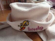 chapeau et écharpe polaire fille - 2 / 3 ans - beige Titi