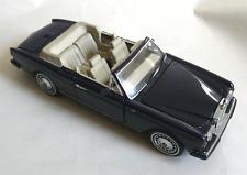 Franklin Mint 1993 Rolls-Royce Corniche, BLUE, +TAG. MINT. 195=myref