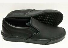 Vans Classic Slip On Classic Tumble Black Mono  US Men's Size 9.0/ Women 10.5