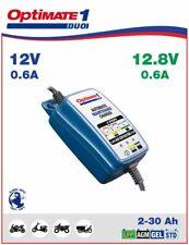 Optimate Motorcycle Smart Battery Optimiser Charger 12v LITHIUM / GEL / MF / AGM