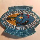 US Navy COSFLOT 3 ADVISOR Coastal Protection Force VIETNAM WAR PATCH - 80