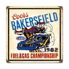 """COORS BAKERSFIELD FUEL GAS CHAMPIONSHIP RACES 12"""" HEAVY DUTY USA MADE METAL SIGN"""