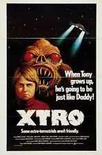 Xtro Poster 02 Metal Sign A4 12x8 Aluminium