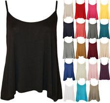 Maglie e camicie da donna multicolori casual con spalline