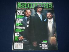 2001 AUGUST THE SOURCE MAGAZINE - SNOOP DOGGY COVER - HIP HOP - RAP - K 489