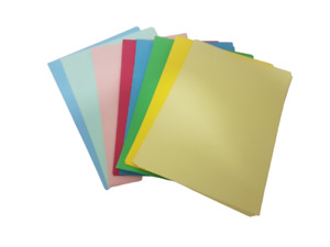 Pack of 20 A4 Coloured Card Sheets 4 Colours x 5 Sheets of Each 220gsm