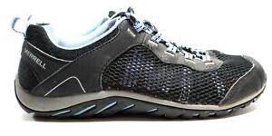 Women's Merrell J289767C Riverbed Black/Lavender Lustre Trail Shoes Size 8