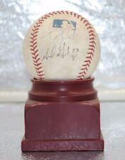 Adrian Gonzalez & Trevor Hoffman & ? Signed Baseball LA Dodgers San Diego Padres